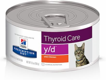 Hill's Prescription Diet y/d Thyroid Care with Chicken Canned Cat