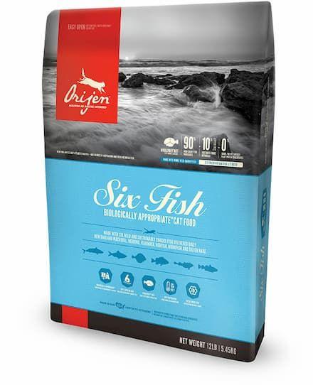 Orijen Usa Made Six Fish Cat Food