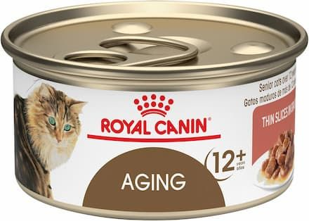 Royal Canin Aging 12+ Thin Slices in Gravy Canned Cat Food
