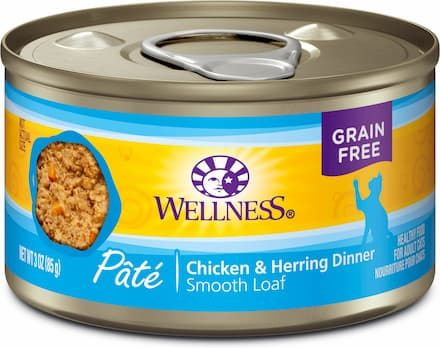 Wellness Complete Health Chicken and Herring Pate Cat Food