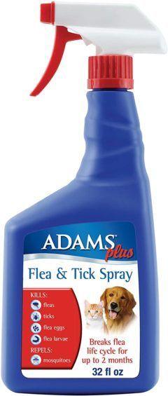 adams plus flea and tick spray