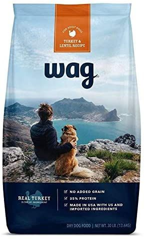 amazon brand wag dry dog food