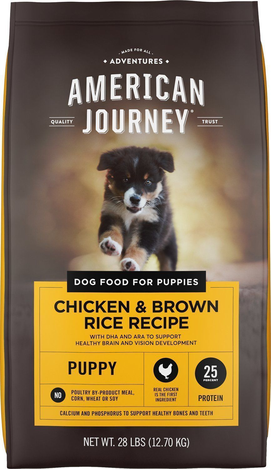 american journey chicken brown rice protein first recipe puppy dry dog food