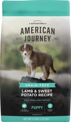 american journey lamb and sweet potato recipe grain-free puppy dry dog food
