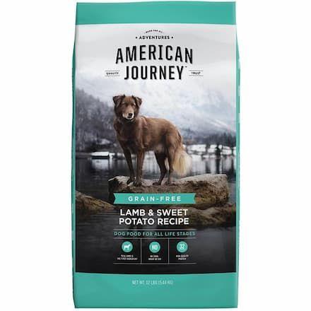 american journey lamb sweet potato recipe grain-free dry dog food