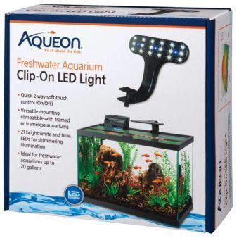 aqueon planted aquarium clip on led light