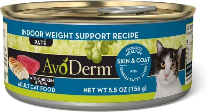 avoderm natural indoor weight support recipe adult canned cat food