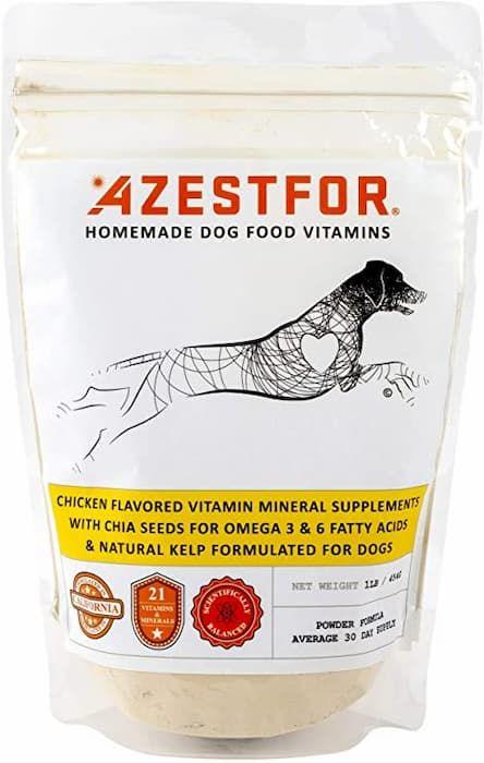 azestfor homemade dog food vitamins