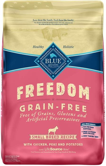 blue buffalo freedom grain-free small breed recipe