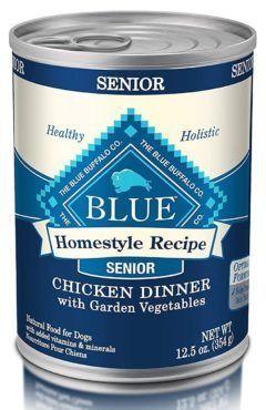 blue buffalo homestyle recipe natural senior wet dog food