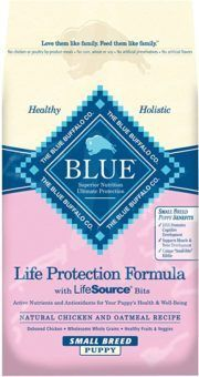 blue buffalo life protection formula natural puppy chicken and brown rice dry dog food