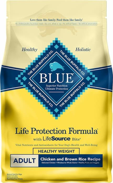 blue buffalo life protection healthy weight