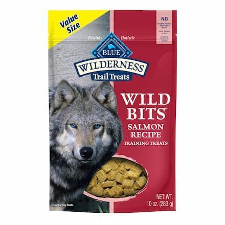 blue buffalo wilderness bits salmon dog treat