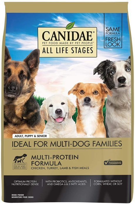 canidae dog food all ages
