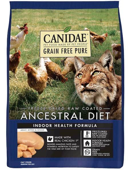 canidae grain free pure ancestral diet chicken dry cat food