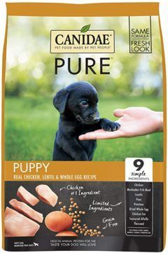 canidae pure puppy recipe limited ingredient grain free premium dry dog food
