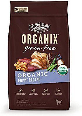 castor and pollux organix puppy recipe