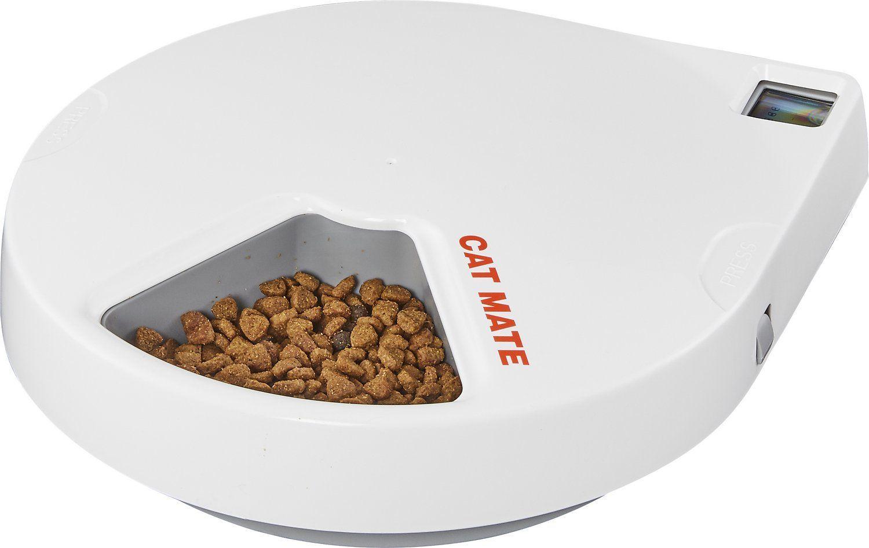 cat mate automatic cat feeder