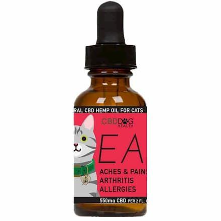 cbd dog health hemp oil