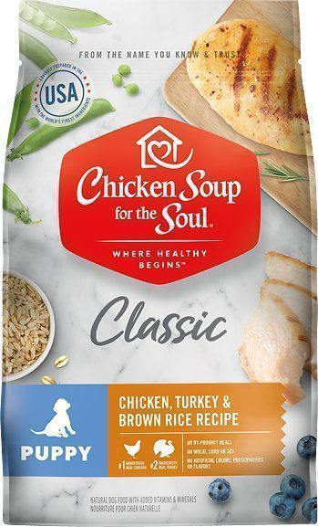 chicken soup for the soul dry puppy food chicken turkey brown rice recipe