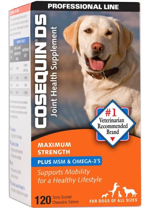 cosequin ds maximum strength plus msm and omega-3 chewable tablets