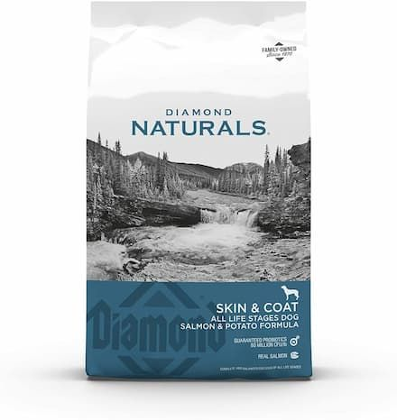 diamond naturals skin coat formula all life stages grain-free dry dog food