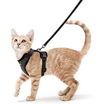eagloo cat harness escape proof soft mesh harness