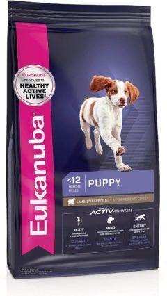 eukanuba puppy lamb and rice formula dry dog food
