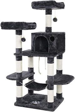 feandrea multi-level cat tree for large cats