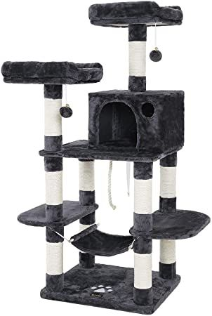 feandrea multi-level cat tree for large cats