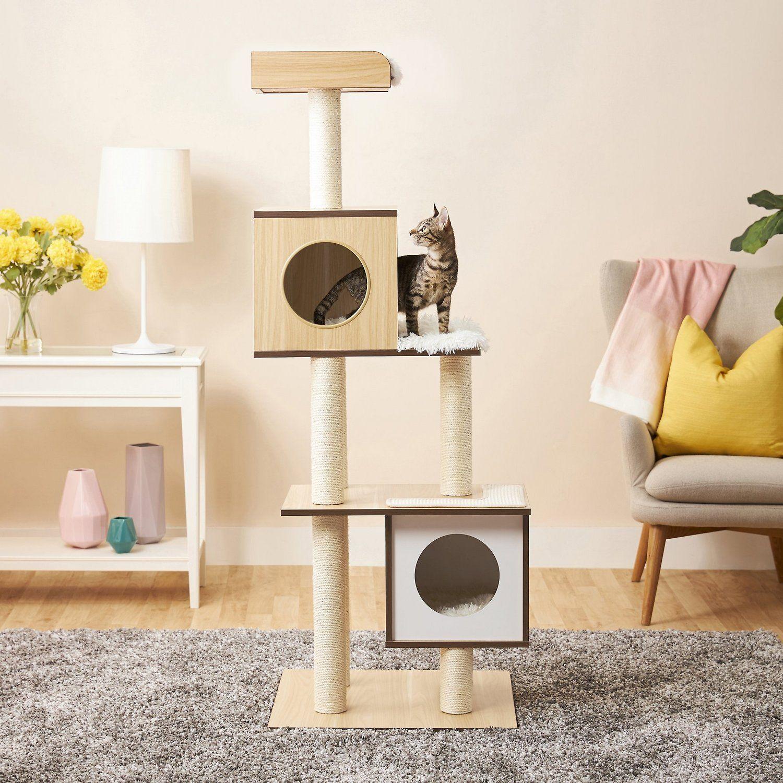 frisco modern cat tree and condo