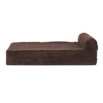 furhaven top chaise lounge sofa-style pet bed