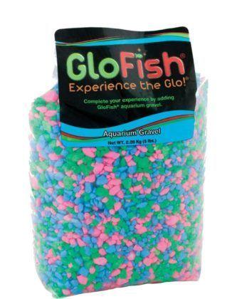 glofish multicolor fluorescent aquarium gravel