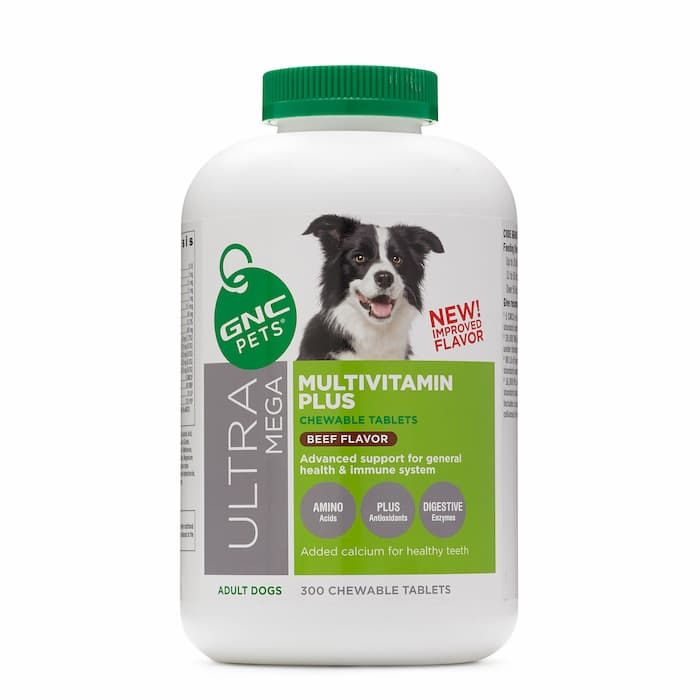 gnc multivitamin chewable supplement for dogs