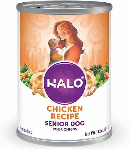 halo chicken recipe for senior dogs