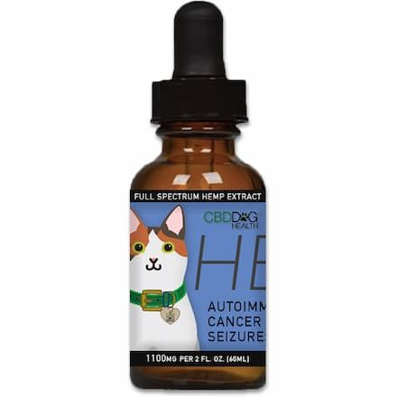 heal full-spectrum hemp extract (cbd) for cats