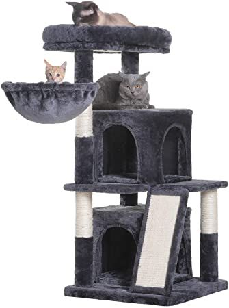 hey-brother multilevel cat tree condo