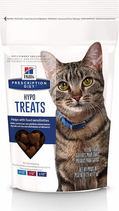 hills prescription diet hypoallergenic cat treats