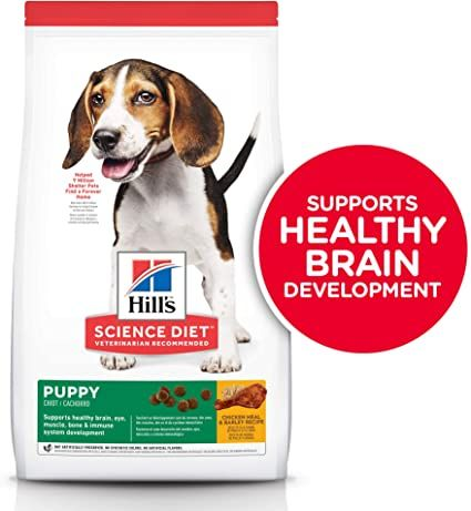 hills science diet dry dog food puppy chicken meal and barley recipe