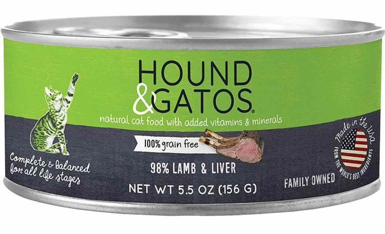 hound gatos grain free canned cat food