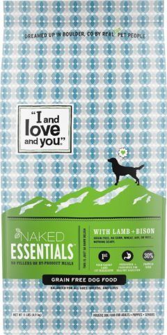 i and love and you naked essentials lamb and bison recipe grain free dry dog food