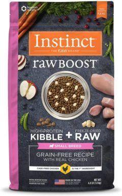 instinct raw boost small breed grain free