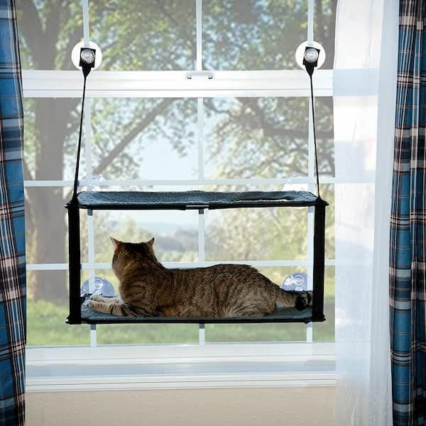 kh ez mount double stack cat window perch