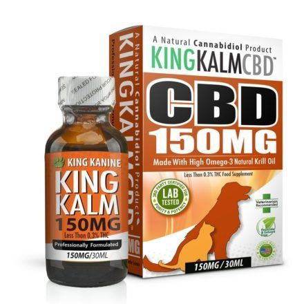 king kanine king kalm cbd medium dize pet formula