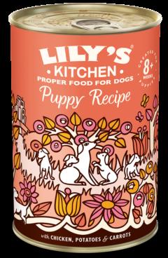 lilys kitchen chicken dinner for puppies