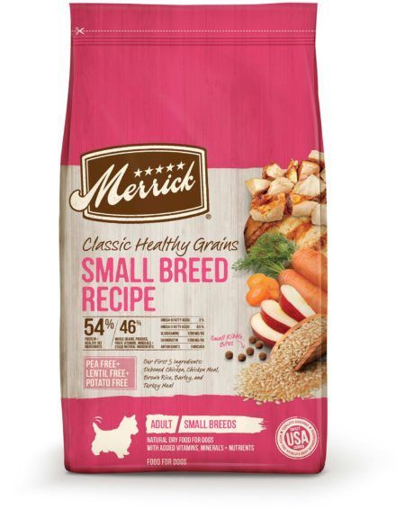 merrick classic healthy grains small breed