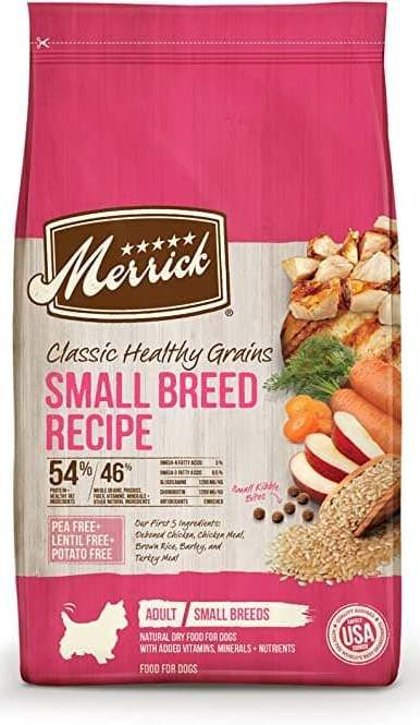 merrick classic small breed dog food