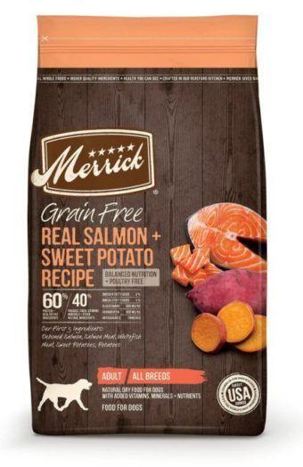 merrick grain free real texas beef sweet potato dry dog food