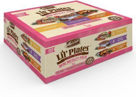 merrick lil plates mini medley grain free variety pack adult
