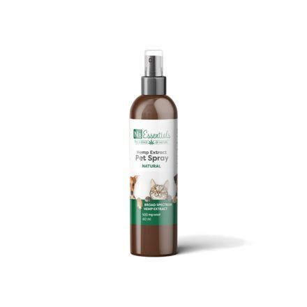 n8 natural hemp extract pet spray